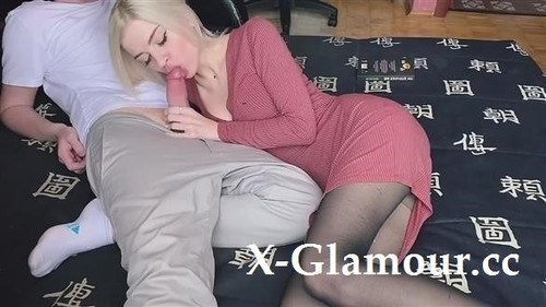Blonde Co-Worker Gets My Dick Deep In Her Asshole [HD]