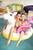 Sybil Unicorn pool HOT SEX (2020-09-27)
