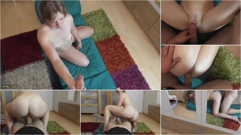 BunnyDiamond - Das erste Mal - Nackt beim Yoga ueberrascht [FullHD 1080P]