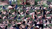 Violated by strap-on - Lexi Sindel