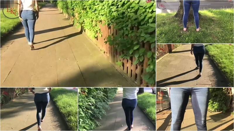 Cat-Coxx - Krassester Jeanspisswalk ever [HD 720P]