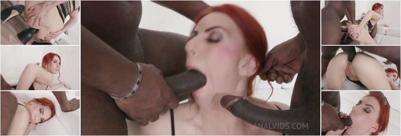 Meghan Knoxx - Kinky interracial DP with Meghan Knoxx (HD)