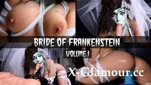 Little Puck - Monstress Bride Of Frankenstein  Horror Halloween D Movie Parody  Vote For Me! [FullHD/1080p]
