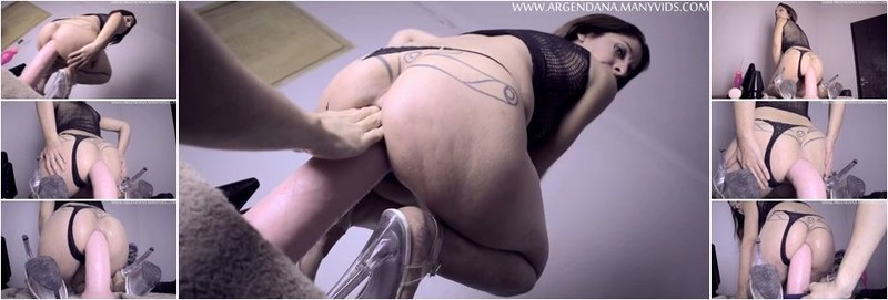ArgenDana - Bizarre amateur big ass MILF dildo and fisting DAP sex (FullHD)