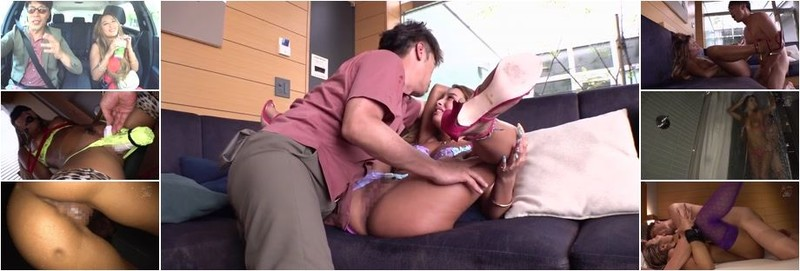 Sakuno Kanna - Sugar Daddy Shop Employee Ranka - Breaking In Her Tanned Supple Flesh With Wild Sex (HD)