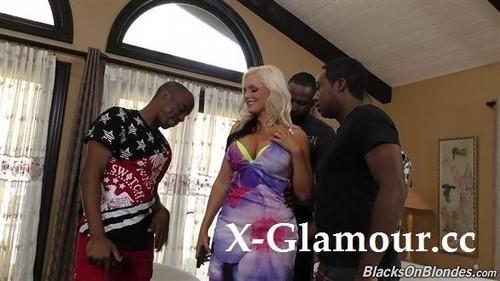 Alena Croft, Ricky Johnson, Jon Jon - Blacks On Blondes 2020-07-22 (2020/FullHD)