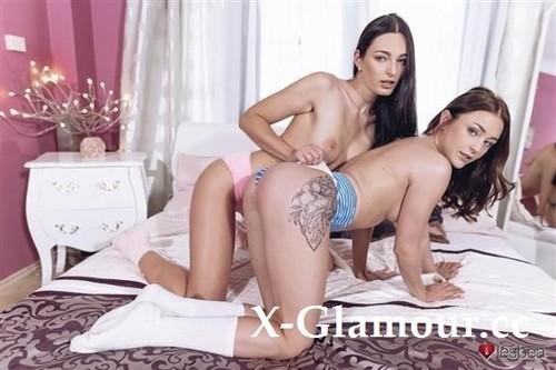 Leanne Lace, Alya Stark - Pretty Euro Girls Lesbian Lust [HD/720p]