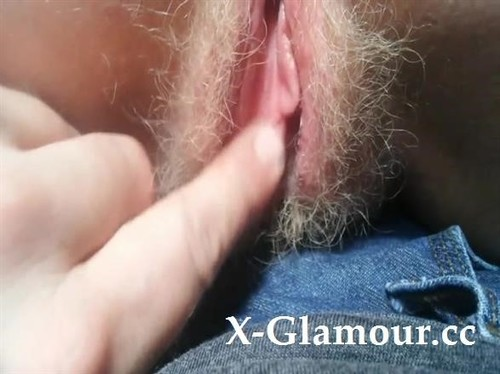 Sweet Hairy Pussy Fingered Hard By An Inked Guy [SD]