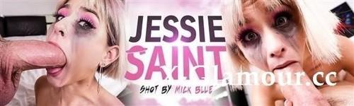 Jessie Saint Takes On 2 Cocks! [HD]