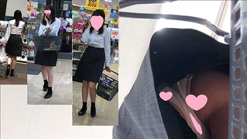 綺麗な制服OLのスカートの中の秘密part13
