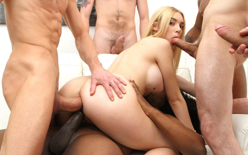 Paola Hard 6on1 Gangbang with double penetration SZ2567 [HD 720P]