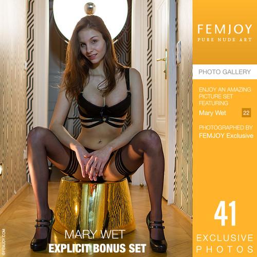 Mary Wet in Explicit Bonus Set (2021-01-02)