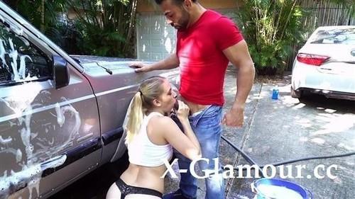 Sierra Nicole - Naughty Sierra Nicole Fucks The Carwash Man (HD)