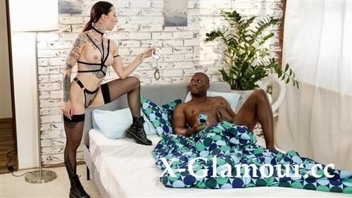Kinky Alt Babe Handcuffs Boyfriend [FullHD]