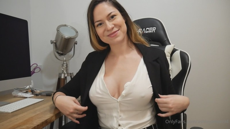 Ashley Alban - Your Boss Seduces You [FullHD 1080P]