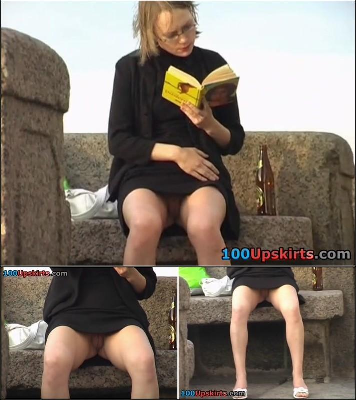Upskirt No Panties 4109