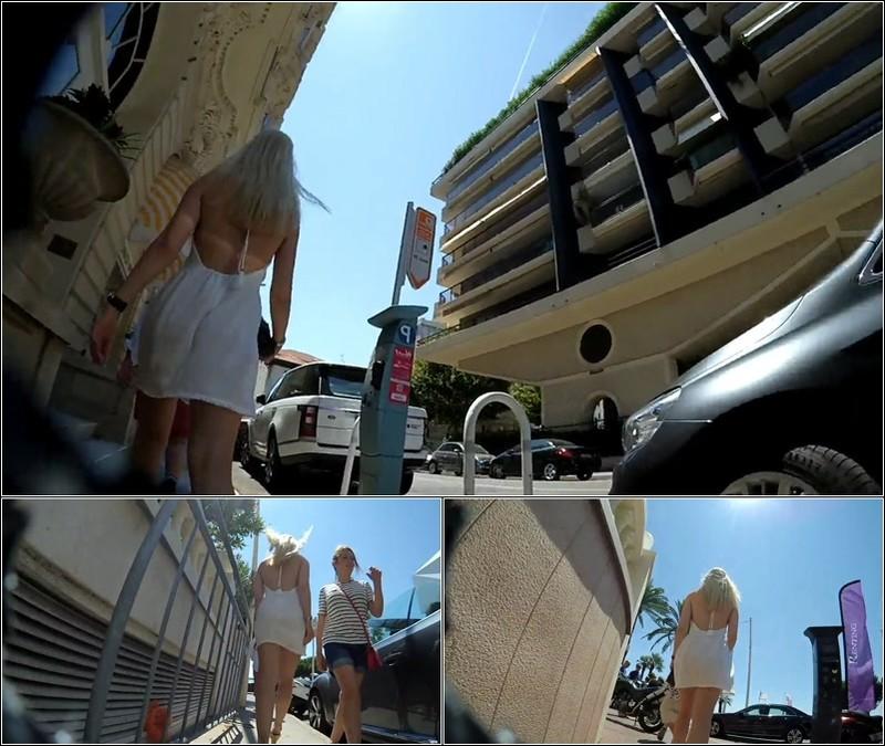 Upskirt No Panties 4320