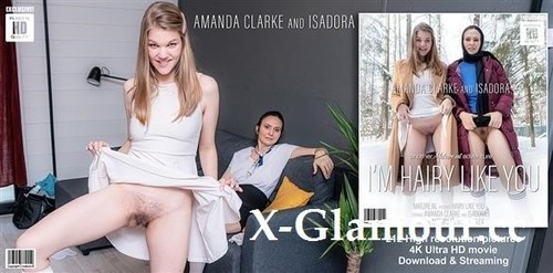 Amanda Clarke 22, Isadora 47 - These Old And Young Lesbian Stepmother And Daughter Find Out They Both Love A Hairy Pussy (2021/FullHD)