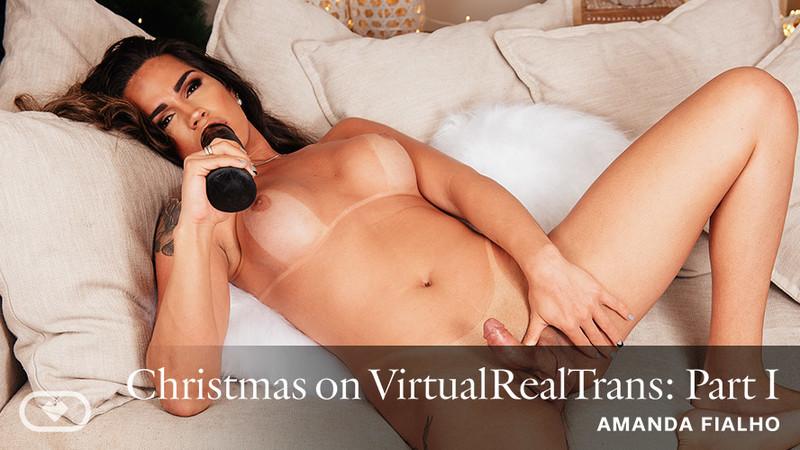 Amanda Fialho Christmas On Virtualrealtrans Part I Oculus 5k