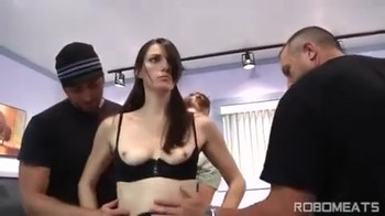 Brother and his friends got mind control over sister and made her a weak-willed whore housekeeper