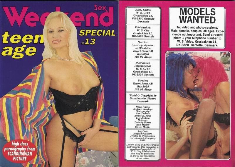 Weekend Sex - Teenager Special 13 (1989) JPG
