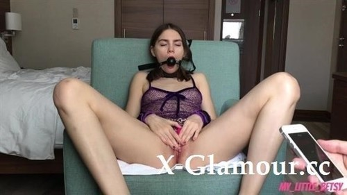 I Brought Her To Orgasm With Kisses And Vibrator [HD]