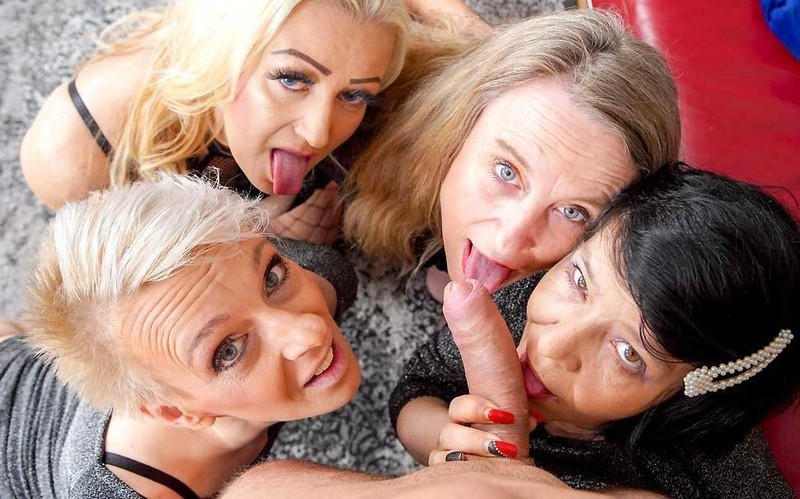 Renate, Belinda Bee, Charllie, Mia S - Four Mature Whores [FullHD 1080P]