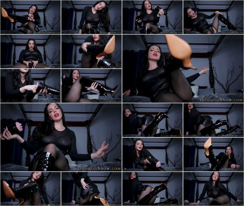 Alexandra Snow - Fleshlight Boot Fuck - Uncensored (1080p)