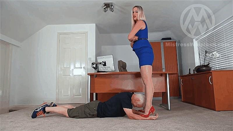 Office trampling from sharp Jimmy Choos [FullHD 1080P]