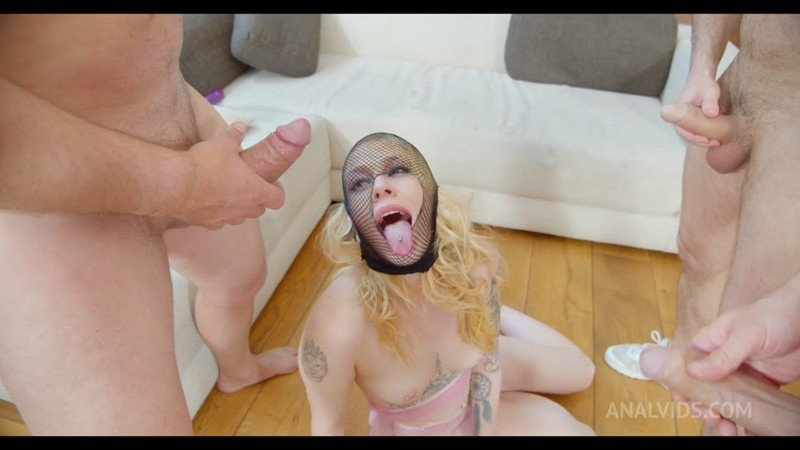 Chrystal Sinn gets fucked hard in the ass and dp by 3 cocks PAF010 [HD 720p]