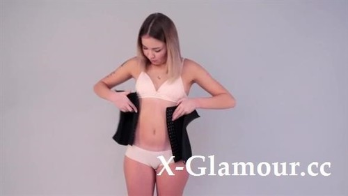 Blogika - Trying On My 5 Best Waist Corsets [HD/720p]