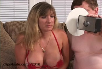 Elderly fat brother subdues sister's brains to himself and makes him give him a blowjob in a strange position