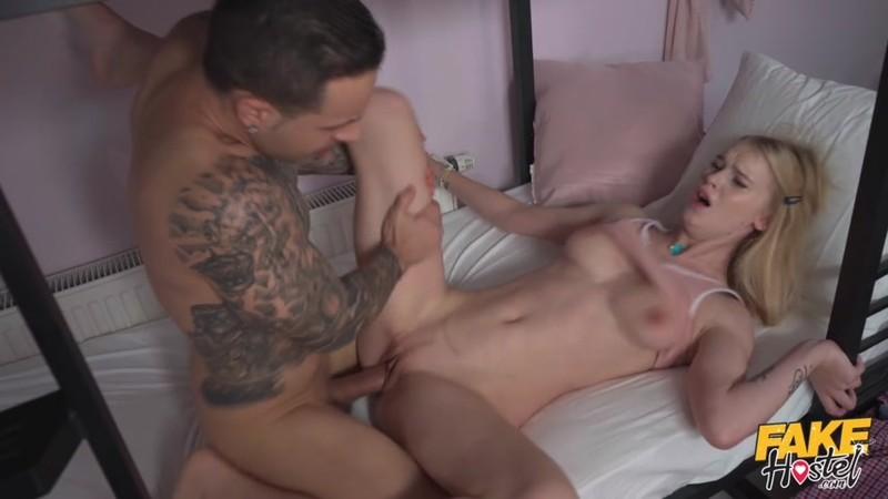 FakeHostel - Ariela Donovan - The Bed Bunk Fuck [HD 720p]