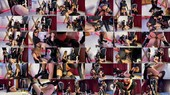 Gang bang pegging with no mercy - Evil Woman, Lady Perse, Mistress Black Widow