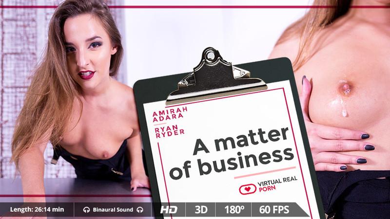 A Matter Of Business Amirah Adara H 264 Gearvr Oculus
