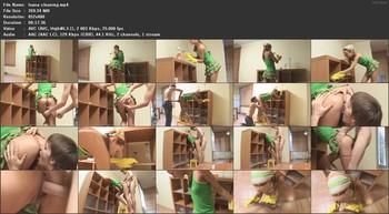 Ivana Fukalot - Room cleaning, 480p