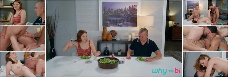 Ricky Larkin, James Darling, Jenna Clove - Dinner For Three (HD)