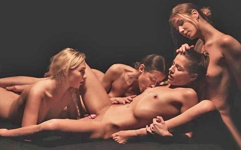 Alexis Crystal, Eveline Dellai, Jenny Wild, Sybil - Pure Pleasure [HD 816P]