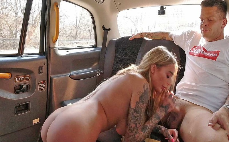 Daisy Lee - Horny Blonde Wants To Fuck With The Driver [UltraHD/2K 1920P]