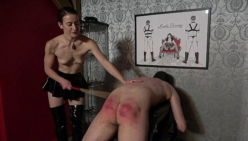 Merciless Dominas - Topless Caning [FullHD 1080P]