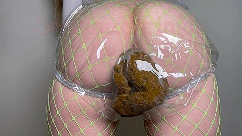 Sophia_Sprinkle - Gorgeous Clear Panty Poop Making Stwinkies [FullHD 1080P]