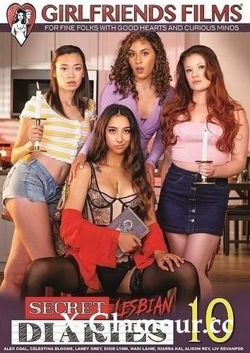 "Alex Coal, Alison Rey, Celestina Blooms, Dixie Lynn, Kiarra Kai, Laney Grey, Liv Revamped, Madi Laine in ""Secret Lesbian Diaries 10"" [HD]"