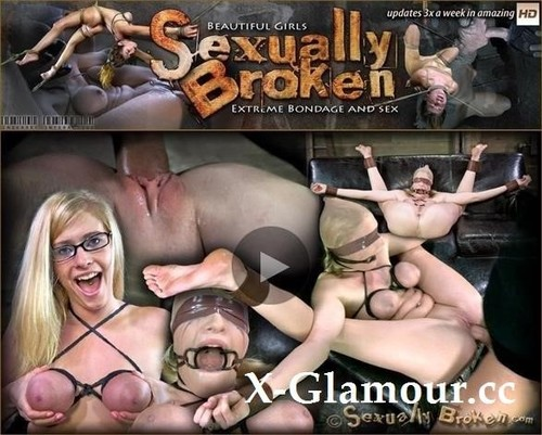 """Allie James in """"Farmers Daughter Bound In Leather And Chains On The Squirt Couch. Brutal Orgasms, Rougher Sex!"""" [HD]"""