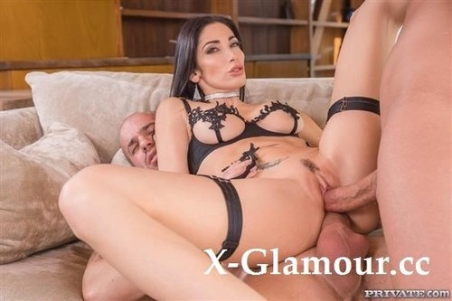 Clea Gaultier - Sexy Lingerie And A Dp Threesome (HD)