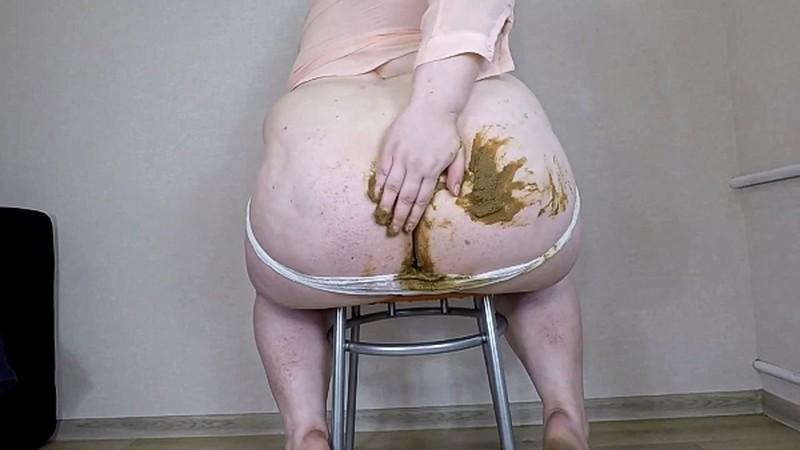 margo - Fat Girl White Panty Poop [FullHD 1080P]