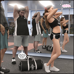 Darklord - Natasha's Workout Part 1