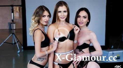 Nataly Gold, Rebecca Volpetti, Mary Rock - Steamy Audition (2021/FullHD)