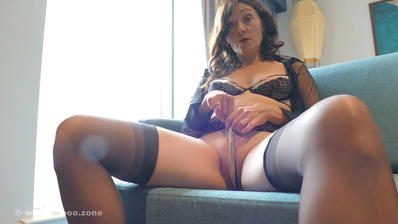 Kitty Cream - Oh step-son you got hard again! - Let me control your dick darling! [FullHD 1080P]