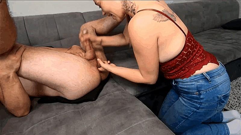 Intense Orgasm - College girl 2 fingers prostate milking roommate [FullHD 1080P]