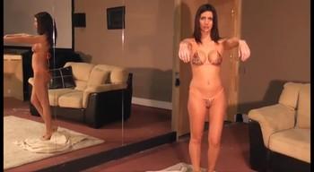 POV bondage video with stepson, hypnotized and bound stepmom